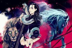 Loki and Jormungandr by levineh