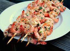 Lean & Green Medifast Recipes: Grilled Herb Shrimp