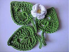 Leaf LEAVES Crochet - YouTube