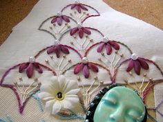 I ❤ embroidery . . . crazy quilting,  ~by Jo in NZ