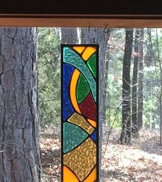 Stained Glass Panel stained glass transom church window | Etsy Dragonfly Stained Glass, Hanging Stained Glass, Stained Glass Designs, Stained Glass Panels, Stained Glass Projects, Stained Glass Patterns, Stained Glass Art, Mosaic Glass, L'art Du Vitrail