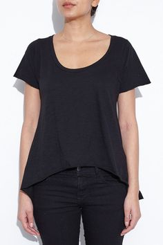 Black Mora Tee Shirt by NSF | shopheist.com