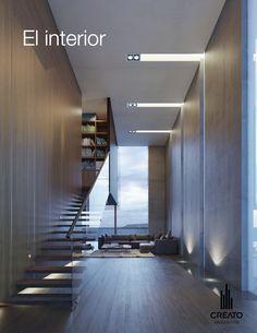 #CASA #INTERIOR #ILUMINACION #DECORACION #MADERA #ARCHITECTURE #CREATO
