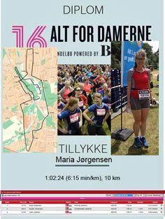 Her i 2016 ville Maria som sædvanen tro løbe Alt for Damernes løb, denne gang valgte hun Odense.
