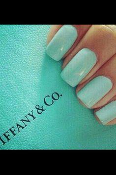 Tiffany blue polish for toes {maid of honor +  bridesmaid}