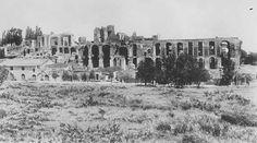 L'area del Circo Massimo finalmente libera da ingombri in una foto degli anni Quaranta.