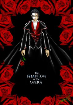 Phantom of the Opera by LoneWolf-dragon.deviantart.com