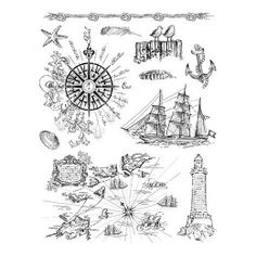 Viva Decor My Paper World Silicone Stamps - At the Seaside #19  Cuddle Buddy digi stamp set $3.50