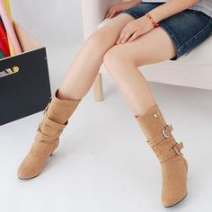 shoes-galore-belted-kitten-heel-mid-calf-boots