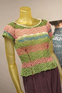 I love how Doris Chan lays out bust, waist, and hip shaping and modifications as well. Learn How to Crochet Top-Down Sweaters - How to Crochet - Blogs - Crochet Me
