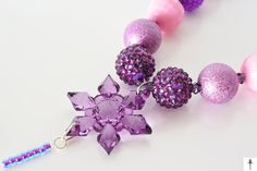 Items similar to Frozen Inspired Chunky Necklace, Snowflake, Bubblegum beads, Photo Props, Girls Jewelry on Etsy Snowflakes, Jewerly, Frozen, Stud Earrings, Necklaces, Inspired, Trending Outfits, Unique Jewelry, Handmade Gifts
