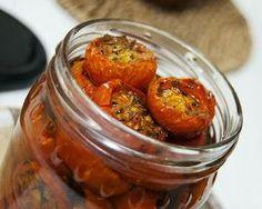 Tomates Cherry en conserva #recetas #gastronomia #aceitedeoliva