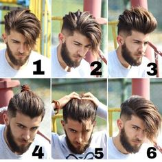 hair and beard styles Bild knnte enthalten: 6 Personen, Bart Mens Hairstyles With Beard, Cool Hairstyles For Men, Boy Hairstyles, Hair And Beard Styles, Haircuts For Men, Short Hair Styles, Barber Haircuts, Amazing Hairstyles, Modern Haircuts