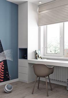Study Room Design, Kids Room Design, Home Room Design, Home Office Design, Home Office Decor, Home Decor Bedroom, Kids Bedroom, House Design, Minimalist Home