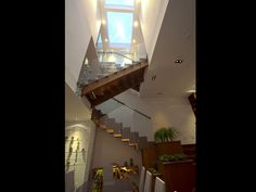 Beautiful staircase.  Please visit www.oedesignbuild.com for more info.