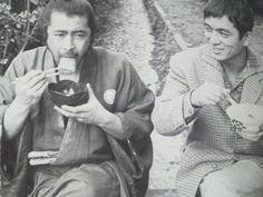 三船敏郎 Tshiro Mifune + 加山雄三 Yuzo Kayama