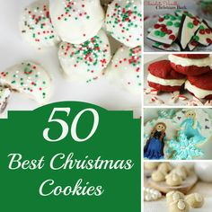 Christmas desserts will never be the same after you try these awesome Christmas Cookies recipes!