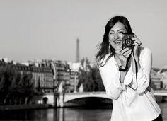 Beautiful pic of Carla Coulson in Paris