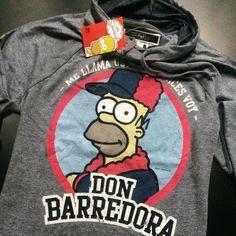 """@mascaradelatex's photo: """"ME LLAMA USTED, ENTONCES VOY, DON BARREDORA ES QUIEN YO SOY ¡Disponible en www.mascaradelatex.com! #LosSimpson #Homero #HomeroSimpson #DonBarredora"""""""