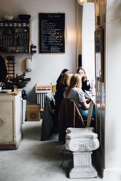 Copenhagen Picture by Ingrid Hofstra Farmhouse Pottery, Vintage Farmhouse, Morning Inspiration, Fika, How To Draw Hair, City Life, Copenhagen, Cozy, Coffee Shops