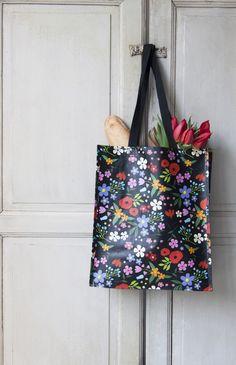 Midnight Garden Design Shopper Bag | dotcomgiftshop