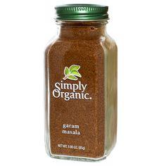 Simply Organic, Garam Masala, 3.00 oz (85 g)