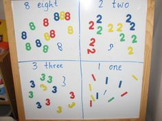Number activities for 5 year olds - Learning 4 kids