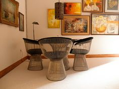 Platner...very classic...elegant...will never go out of style!