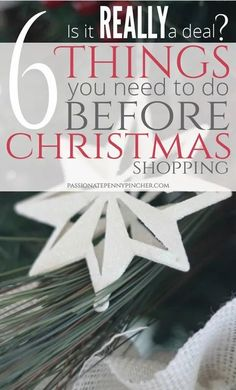 6 MUST Do Things You Need To Do Before Christmas Shopping! Frugal Christmas, Christmas Shopping, All Things Christmas, Christmas Holidays, Christmas Crafts, Merry Christmas, Babies First Christmas, Before Christmas, Winter Holidays
