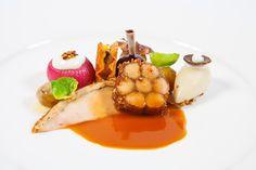 Hierbij de officiëlefoto's van de gerechten die het Nederlandse team gemaakt hebbentijdens de Bocuse d'Or 2015.