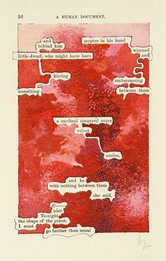 Tom Phillips - A Humument -  p.56