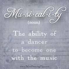 LOVE this quote so much! It is so true from a dancer's perspective