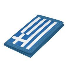 Greece flag wallet