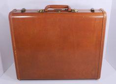 Vintage Samsonite Shwayder Bros. Briefcase Hardsider #4618 1940s-1950s #Samsonite #BriefcaseAttache