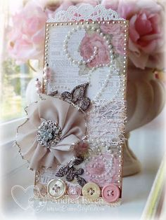 EwenStyle: Home Made Flower Tag