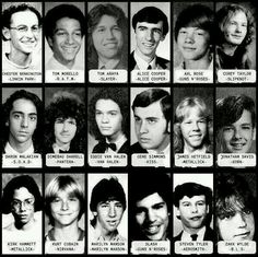 Rock Stars Before They Were Famous