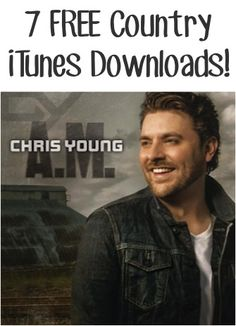 7 FREE Country iTunes Downloads! {Chris Young, the Band Perry + more!}