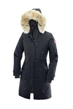 Canada Goose Kensignton Parka in NAVY! So much more chic than black!