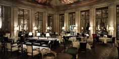 Dine in one of Paris's most iconic restaurants at the Le Meurice hotel. Discover Michelin star French dishes, served in the elegant Restaurant Le Dali. 5 Star Restaurants, Unique Restaurants, Restaurant Paris, Paris Cafe, Michelin Star, Dali, Palaces, Le Meurice, Dorchester Collection