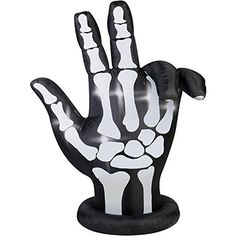 Gemmy Airblown Inflatable 7 X 6 Animated Skeleton Hand Halloween Decoration ** Check out the image by visiting the link.