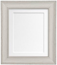 Vintage Distressed Pale Grey Photo frame with Mounts in Various Colours AP4620 | eBay