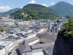 Salzburg-Kapuzinerberg-Dom Salzburg, Park, Paris Skyline, Travel, Europe, Vacation, Voyage, Parks, Viajes