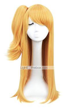Cosplay Perucken Fairy Tail Lucy Heartfilia Blondine Anime Cosplay Perucken  Zoll Hitzebestandige Faser Damen Halloween Perucken