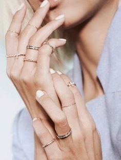 How to Chic: NEW RINGS