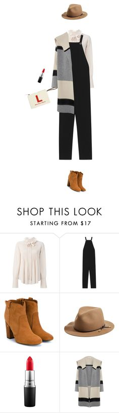 """go to - casual chic"" by cheetakat12 on Polyvore featuring Chloé, T By Alexander Wang, Laurence Dacade, rag & bone, MAC Cosmetics, Vince, women's clothing, women's fashion, women and female"