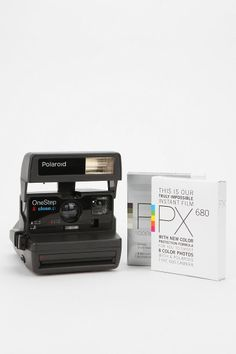 NOW- I have been wanting one of these little boogers again since I had to chunk my other one because I could never afford the film once I used the film that was included with purchase:'(Polaroid One-Step Close-Up Camera  Urban Outfitters, $180