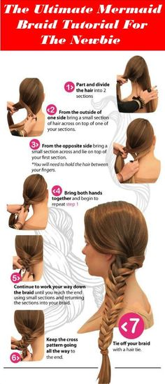 Make Your Own Hairstyle Awesome How To Braid Your Own Hair In 12 Unique Ways  Pinterest  Hair