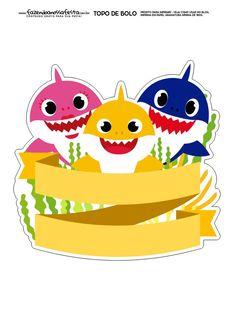 Shark Birthday Cakes, 1st Boy Birthday, Birthday Party Themes, Baby Shark Name, Baby Shark Doo Doo, Baby Hai, 2 Baby, Shark Cake, Shark Party
