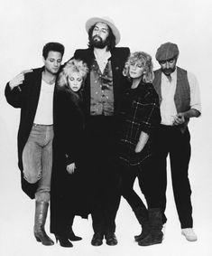 """Fleetwood Mac photographed by Greg Gorman - "" Buckingham Nicks, Lindsey Buckingham, Tango In The Night, Stephanie Lynn, Gypsy Moon, Stevie Nicks Fleetwood Mac, Rock N Roll, My Music, Beautiful People"