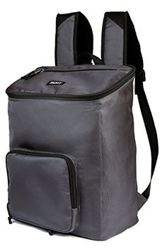 PackIt Freezable Backpack Cooler, Charcoal Grey. For product & price info go to:  https://all4hiking.com/products/packit-freezable-backpack-cooler-charcoal-grey/